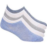 Gina Women's Laundry Marled Sneaker Liner Sock, 5/pk