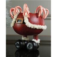 Meadowbrooke Gourds Santa Pants Candy Dish Gourd