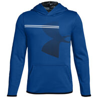 Under Armour Boys' Armour Fleece Print Logo Sweatshirt
