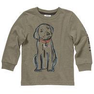 Carhartt Toddler Boy's Hunting Puppy Long-Sleeve Shirt