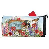 MailWraps Sweet Home Magnetic Mailbox Cover