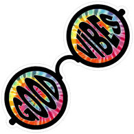 Sticker Cabana Sunglasses Sticker