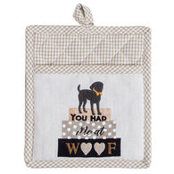 Kay Dee Designs Fur Real Pets Dog Embroidered Pocket Mitt