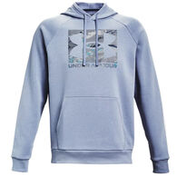 Under Armour Men's UA Rival Fleece Camo Logo Hoodie