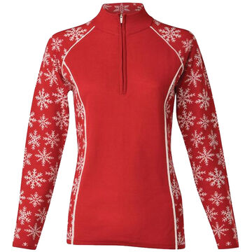 Krimson Klover Womens Downhill Edge 1/4-Zip Pullover Sweater