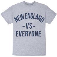 Boston Sports Apparel Men's Big & Tall New England VS Everyone Short-Sleeve T-Shirt