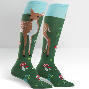 Sock It To Me Women's Fawn Memories Sock