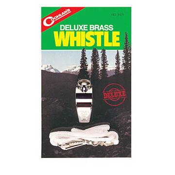 Coghlans Deluxe Brass Whistle