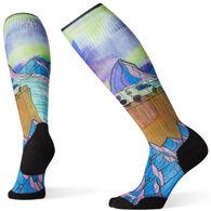 Smartwool Women's PhD Ski Light Elite Northern Dreams Print Sock