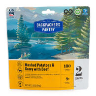 Backpacker's Pantry Mashed Potatoes w/ Gravy & Beef - 2 Servings