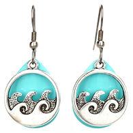 Eye Catching Jewelry Women's Waves Earring