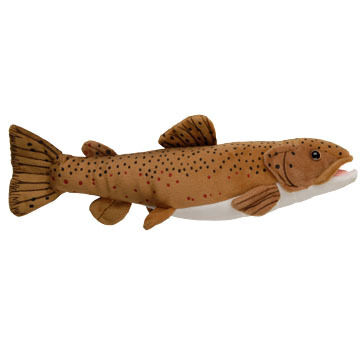 "Cabin Critters 17"" Plush Brown Trout"