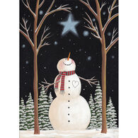 LPG Greetings Wish on a Star Snowman Boxed Christmas Cards