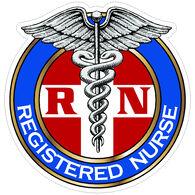 Sticker Cabana Registered Nurse Sticker