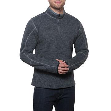 Kuhl Mens Thor Quarter-Zip Fleece Long-Sleeve Top