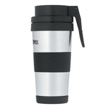 Thermos Vacuum Insulated 14 oz. Tumbler w/ Lever-Operated Drink Lid