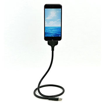 Fuse Chicken Bobine Blackout Auto Edition Lightning Cable iPhone Dock