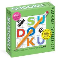The Original Sudoku 2021 Page-A-Day Calendar by Editors at Nikoli