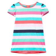 Joules Girl's Flutter Short-Sleeve Shirt