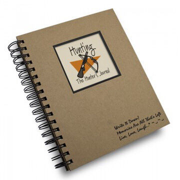 Journals Unlimited Write it Down! Hunting Journal