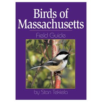 Birds of Massachusetts Field Guide by Stan Tekiela
