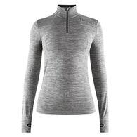 Craft Sportswear Women's Fuseknit Comfort Zip-Neck Baselayer Long-Sleeve Top