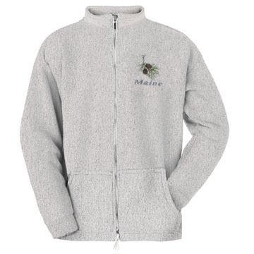 ESY Mens Pinecone Full Zip Sweatshirt