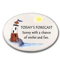 August Ceramics Today's Forecast Magnet