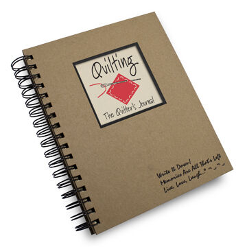 """Journals Unlimited """"Write It Down!"""" A Quilting Journal"""