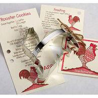 Ann Clark Tin Cookie Cutter - Rooster