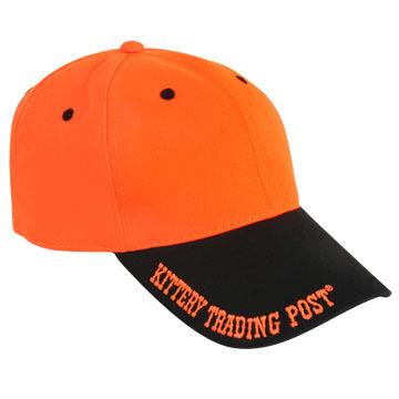 Kittery Trading Post Mens Blaze Orange Baseball Cap