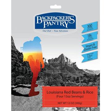 Backpacker's Pantry Vegan Louisiana Red Beans & Rice - 4 Servings