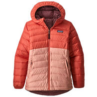 Patagonia Girls' Reversible Down Sweater Hoody Jacket