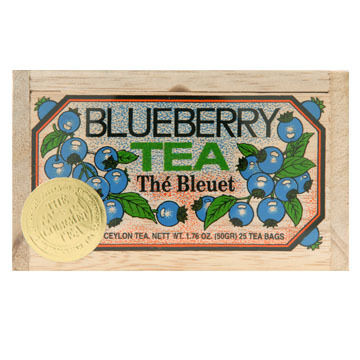 Metropolitan Blueberry Tea Soft Wood Chest, 25-Bag