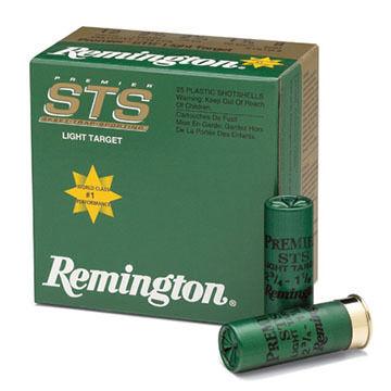 "Remington Premier STS Target 12 GA 2-3/4"" 1-1/8 oz. #8 1145 FPS Shotshell Ammo (25)"