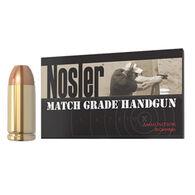 Nosler Match Grade 9mm Luger 115 Grain JHP Handgun Ammo (50)