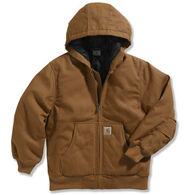 Carhartt Boys' Quilted Taffeta Lined Work Active Jac