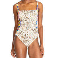 Johnny Was Women's Oksana Bandeau One-Piece Swimsuit