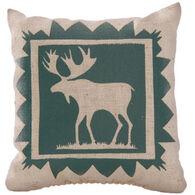 """Maine Balsam Fir 4"""" x 4"""" Indian Plain Moose Balsam Pillow"""