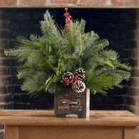 Winnipesaukee Wreath Rustic Centerpiece
