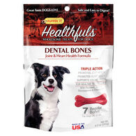 Ruffin' It Healthfuls Heart & Joint Health Dental Bone Dog Treat - 8.5 oz.