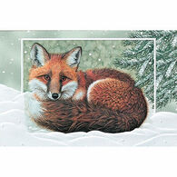 Pumpernickel Press Winter Fox Deluxe Boxed Greeting Cards