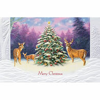 Pumpernickel Press Christmas Deer Deluxe Boxed Greeting Cards