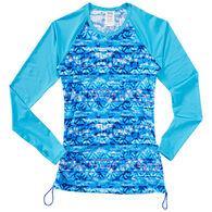 TYR Sport Women's Sundrata Belize Print Long-Sleeve Rashguard