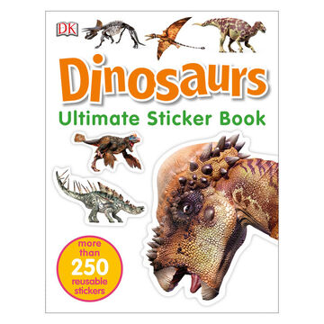 Ultimate Sticker Book: Dinosaurs by DK Publishing