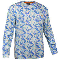 Grundens Men's Fish Head Long-Sleeve Shirt
