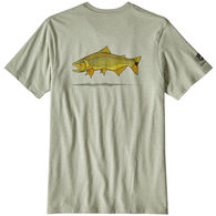 Patagonia Men's Golden Dorado World Trout Responsibili-Tee Short-Sleeve T-Shirt