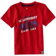 Carhartt Boys' Be Legendary Short-Sleeve T-Shirt
