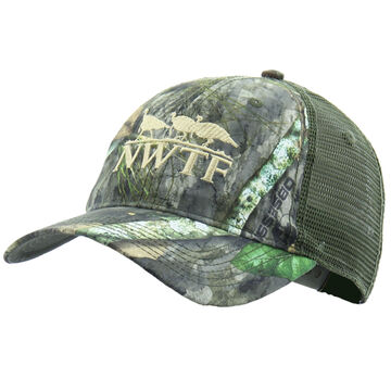 Nomad Mens NWTF Camo Trucker Hat