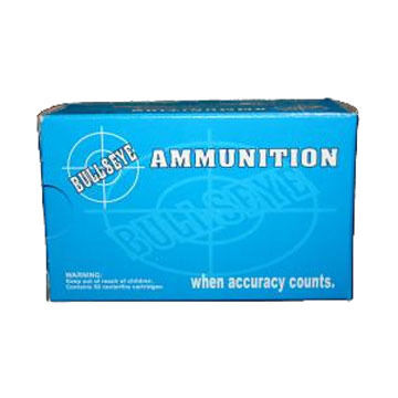Bullseye 45 Automatic 230 Grain RN Reloaded Handgun Ammo (50)